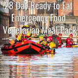 28 Day Ready to Eat  Emergency Food Vegetarian Pack