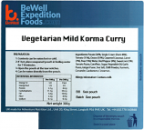 300g Vegetarian Korma (V) 300g MRE Wet Meal