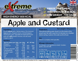 Extreme Adventure Food 500 Kcal Apple & Custard