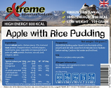 Extreme Adventure Food 500 Kcal Apple & Rice Pudding