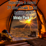 Award & Expedition 24 Hour Ready to Eat pack 2020  Meaty PACK E