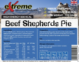 Extreme 800 Kcal Beef Shepherds pie