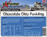 Extreme Adventure Food 500 Kcal Chocolate chip Dessert
