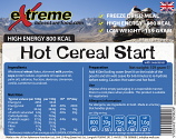 Extreme 800 Kcal Hot Cereal Start