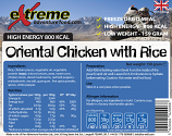 Extreme 800 Kcal Oriental Chicken & Rice