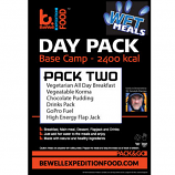 Wet Meal ration pack TWO, Vegetarian