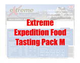 Extreme Expedition Food Tasting Pack M
