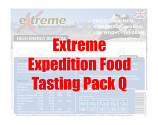 Extreme Expedition Food Tasting Pack Q
