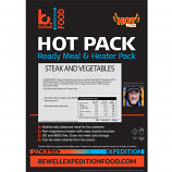 SELF HEATING 300g Steak and Vegetables  ready to eat meal
